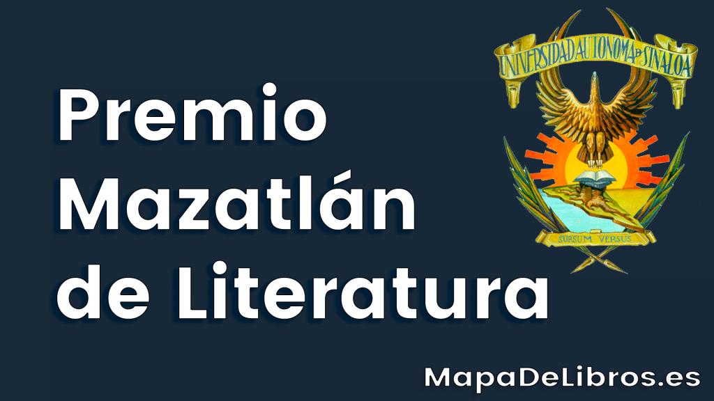 Premio Mazatlán de Literatura